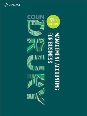 Management Accounting for Business 7th edition by Colin Drury