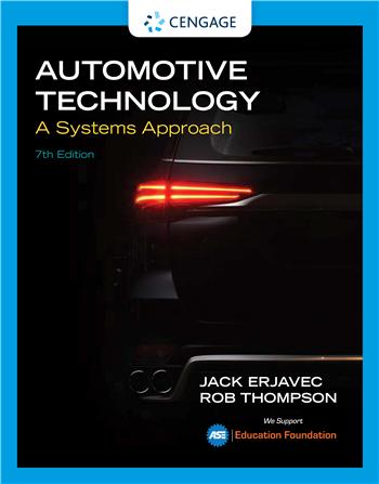 Automotive Technology: A Systems Approach 7th Edition eTextbook by Jack Erjavec, Rob Thompson