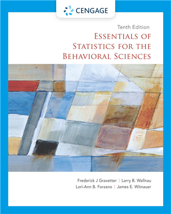Essentials of Statistics for the Behavioral Sciences, 10th Edition