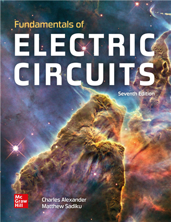 Fundamentals of Electric Circuits 7th Edition eTextbook by Charles Alexander, Matthew Sadiku
