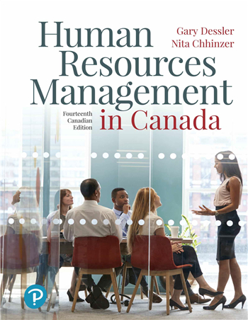 Human Resources Management in Canada, 14th Canadian Edition eTextbook by Gary Dessler, Nita Chhinzer