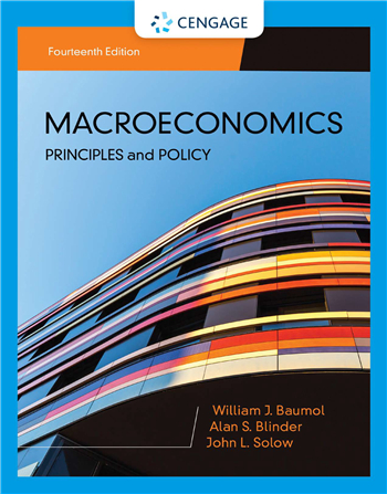 Macroeconomics: Principles & Policy 14th Edition eTextbook by William J. Baumol, Alan S. Blinder, John L. Solow
