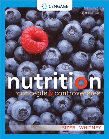 Nutrition: Concepts and Controversies 15th Edition eTextbook by Frances Sizer, Ellie Whitney