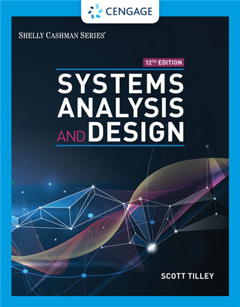 Systems Analysis and Design 12th Edition eTextbook by Scott Tilley