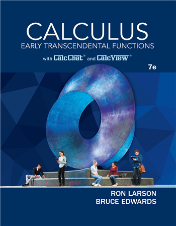 Calculus: Early Transcendental Functions 7th Edition eTextbook by Ron Larson, Bruce H. Edwards