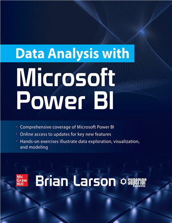 Data Analysis with Microsoft Power BI eTextbook by Brian Larson