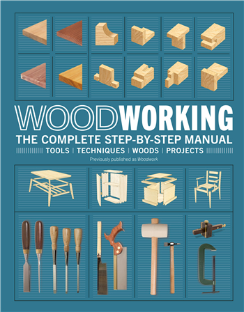 Woodworking: The Complete Step-by-Step Manual ebook by DK