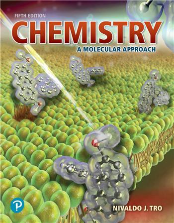 Chemistry: A Molecular Approach, 5th edition eTextbook by Nivaldo J. Tro