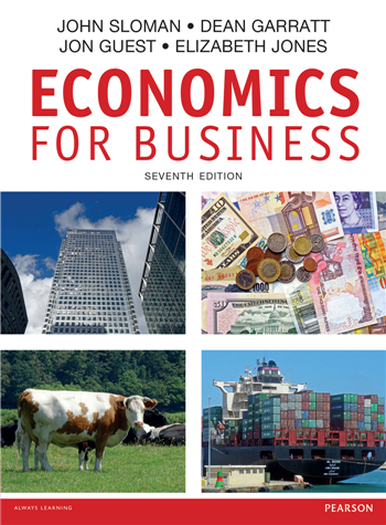 Economics for Business 7th Edition eTextbook by John Sloman, Dean Garratt, Jon Guest, Elizabeth Jones