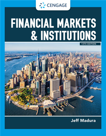 Financial Markets & Institutions 13th Edition eTextbook by Jeff Madura