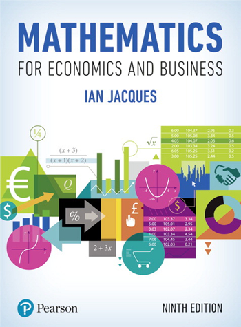 Mathematics for Economics and Business, 9th Edition eTextbook by Ian Jacques