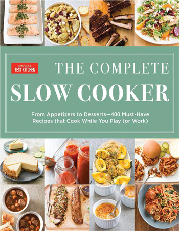 The Complete Slow Cooker eBook by America's Test Kitchen