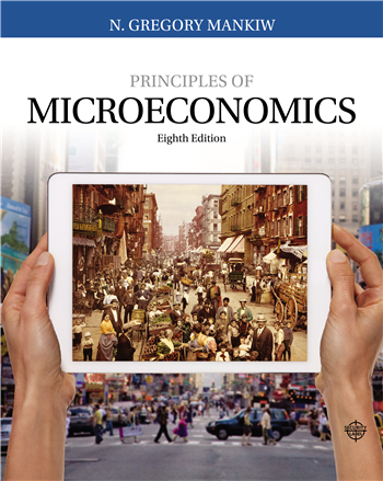 Principles of Microeconomics 8th Edition eTextbook by N. Gregory Mankiw