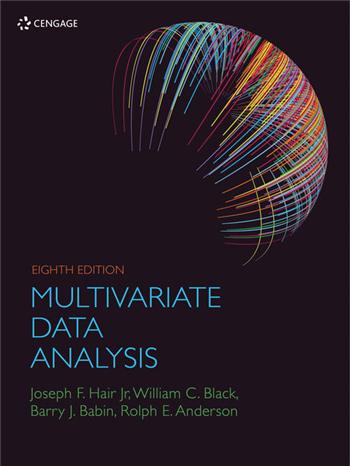 Multivariate Data Analysis, 8th Edition eTextbook by Joseph F. Hair, William C. Black, Barry J. Babin, Rolph E Anderson