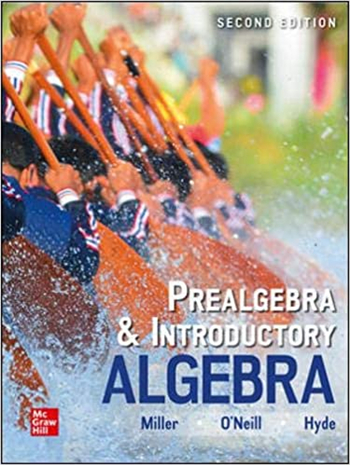 Prealgebra & Introductory Algebra 2nd Edition eTextbook by Julie Miller, Molly O'Neill, Nancy Hyde