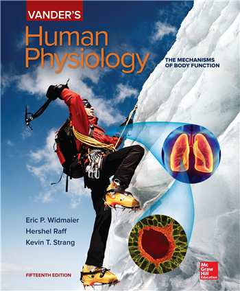 Vander's Human Physiology, 15th Edition eTextbook by Eric Widmaier, Hershel Raff, Kevin Strang