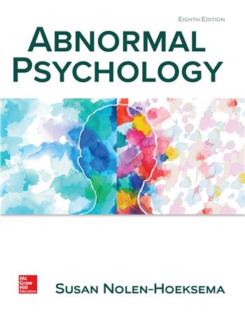 Abnormal Psychology, 8th Edition eTextbook by Susan Nolen-Hoeksema