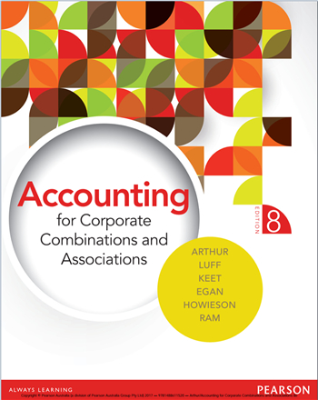 Accounting for Corporate Combinations and Associations, 8th Edition