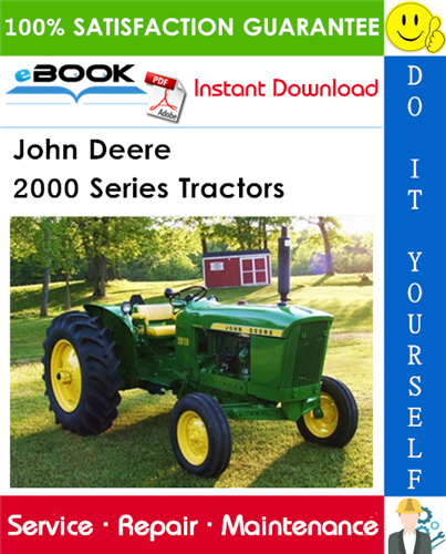John Deere 2000 Series Tractors Service Repair Manual