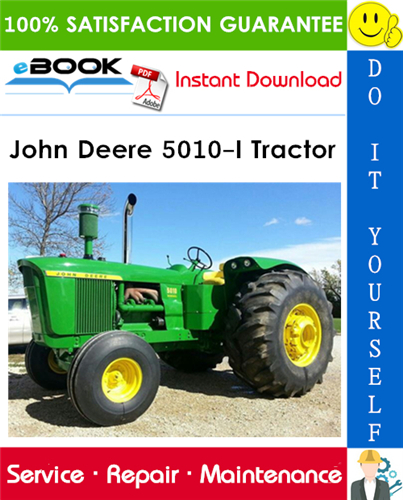 John Deere 5010-I Tractor Service Repair Manual