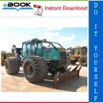 Timberjack 660D Skidder Service Repair Manual