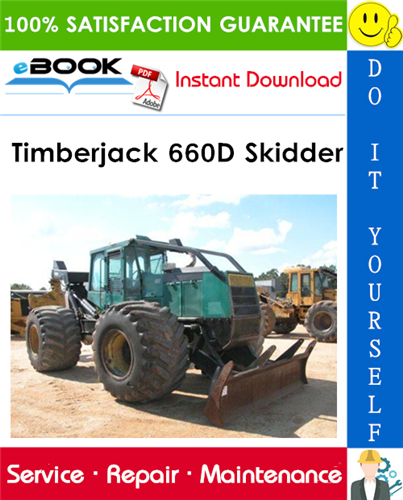 Timberjack 660D Skidder Service Repair Manual