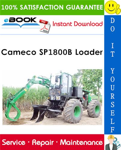 Cameco SP1800B Loader Service Repair Manual