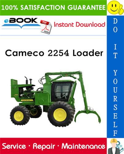 Cameco 2254 Loader Service Repair Manual
