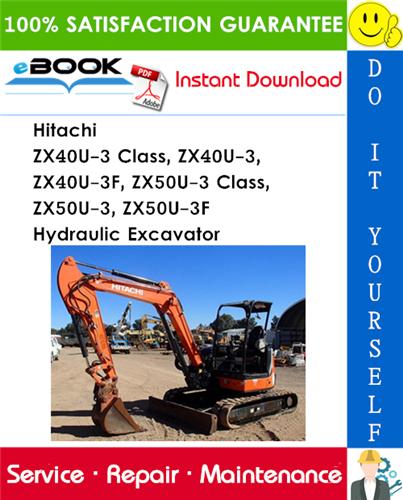 Hitachi ZX40U-3 Class, ZX40U-3, ZX40U-3F, ZX50U-3 Class, ZX50U-3, ZX50U-3F