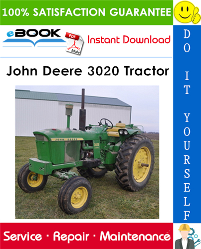 John Deere 3020 Tractor Technical Manual