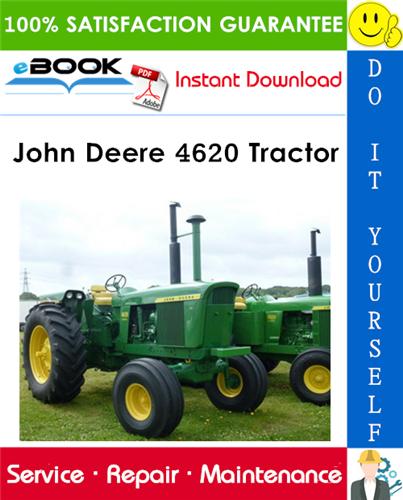 John Deere 4620 Tractor Technical Manual