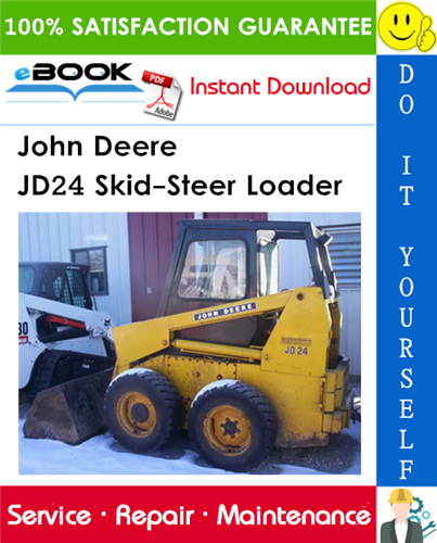 John Deere JD24 Skid-Steer Loader Technical Manual