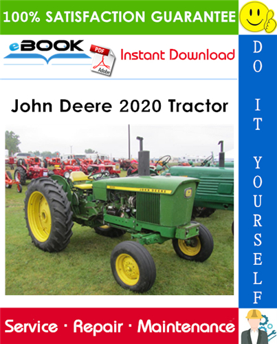 John Deere 2020 Tractor Technical Manual