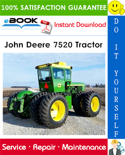 John Deere 7520 Tractor Technical Manual