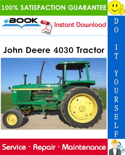 John Deere 4030 Tractor Technical Manual