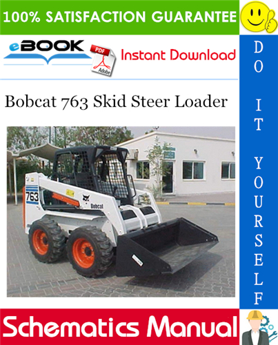 763 bobcat hydraulic schematic bobcat 763 skid steer loader wiring hydraulic hydrostatic  bobcat 763 skid steer loader wiring