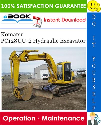 Komatsu PC128UU-2 Hydraulic Excavator Operation