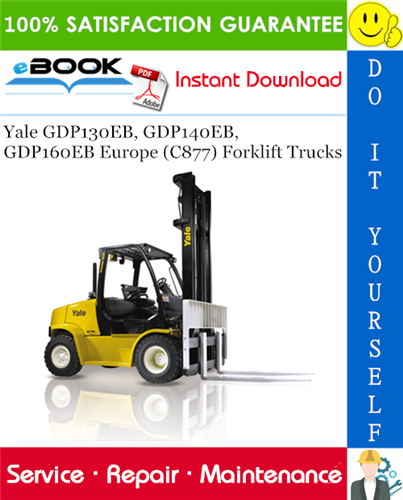 Yale GDP130EB, GDP140EB, GDP160EB Europe (C877) Forklift