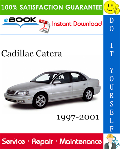 Cadillac Catera Service Repair Manual 1997