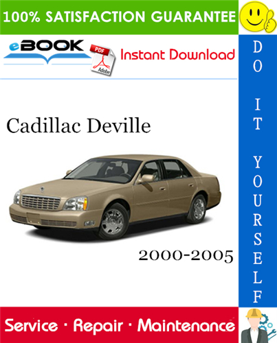 Cadillac Deville Service Repair Manual 2000