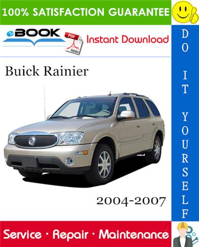 Buick Rainier Service Repair Manual 2004