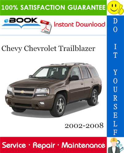 Chevy Chevrolet Trailblazer Service Repair Manual 2002