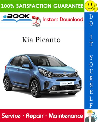 Kia Picanto Service Repair Manual  U2013 Pdf Download