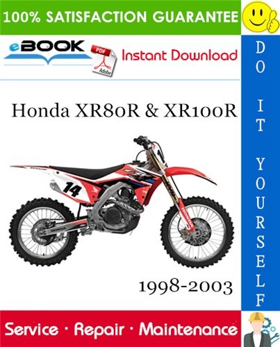 wiring schematic 2002 honda xr80r    honda       xr80r     amp  xr100r motorcycle service repair manual 1998     honda       xr80r     amp  xr100r motorcycle service repair manual 1998