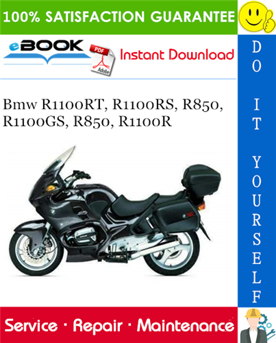 Bmw R1100rt  R1100rs  R850  R1100gs  R850  R1100r