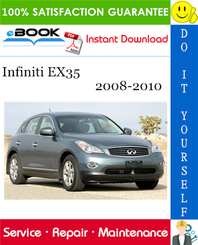 Infiniti Ex35 Service Repair Manual 2008
