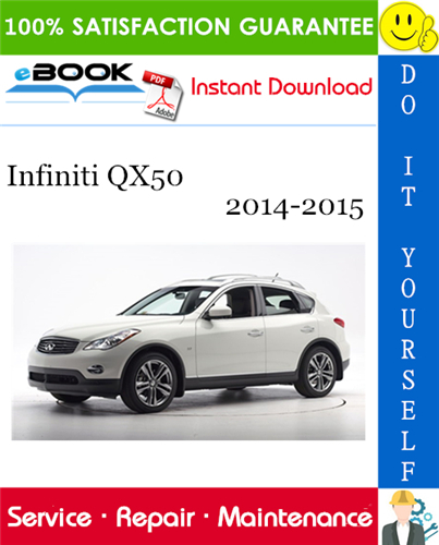 Infiniti Qx50 Service Repair Manual 2014