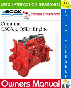 Cummins QSC8.3, QSL9 Engine