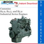 Cummins B3.9, B4.5, and B5.9 Industrial Series Engines