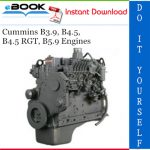 Cummins B3.9, B4.5, B4.5 RGT, B5.9 Engines